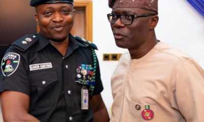 Super cop, Yinka Egbeyemi distributes COVID-19 palliatives, turns heat on Lagos hoodlums